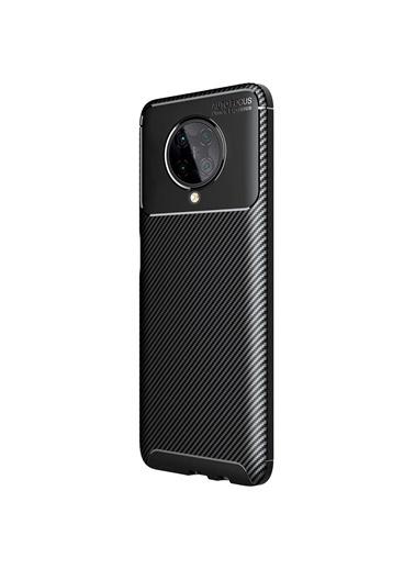 Microsonic Xiaomi Redmi K30 Pro Kılıf Legion Series Kahverengi Siyah